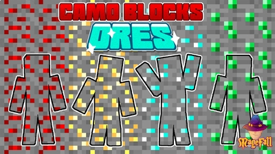 Camo Blocks Ores on the Minecraft Marketplace by Magefall