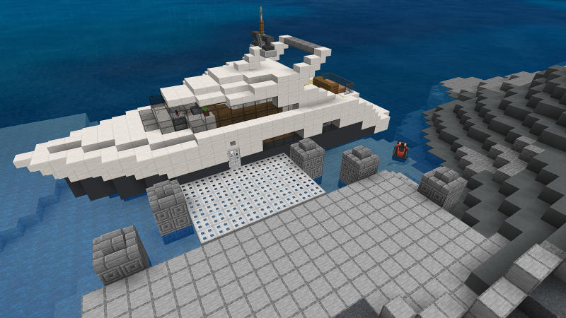 Luxury Cliffside Mansion by BLOCKLAB Studios
