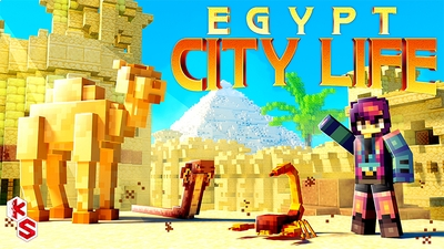 Egypt City Life on the Minecraft Marketplace by Kreatik Studios