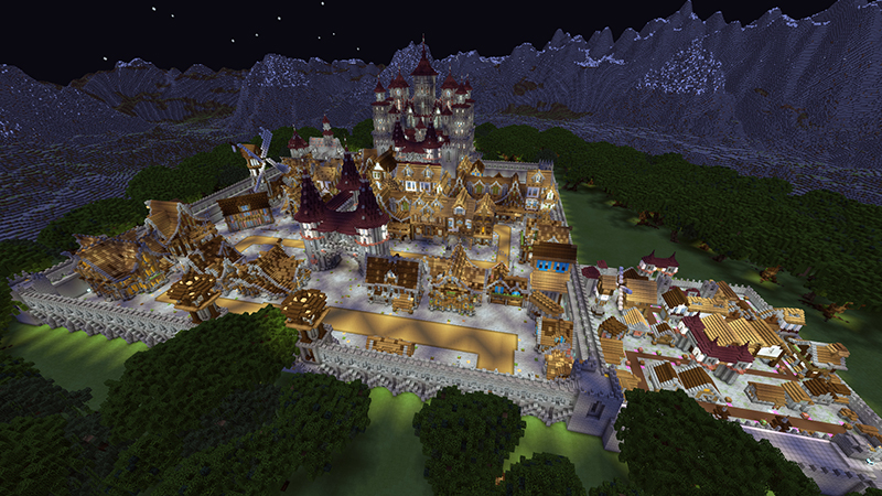 Turret Defence Medieval on the Minecraft Marketplace by Netherpixel