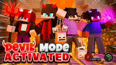 Devil Mode Activated on the Minecraft Marketplace by G2Crafted