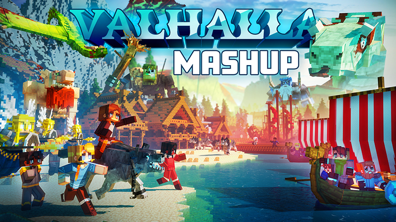Valhalla Mashup on the Minecraft Marketplace by Atheris Games
