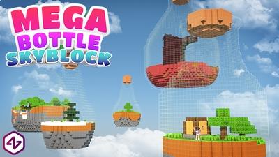 Mega Bottle Skyblock on the Minecraft Marketplace by 4KS Studios