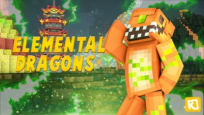 Elemental Dragons on the Minecraft Marketplace by Kuboc Studios