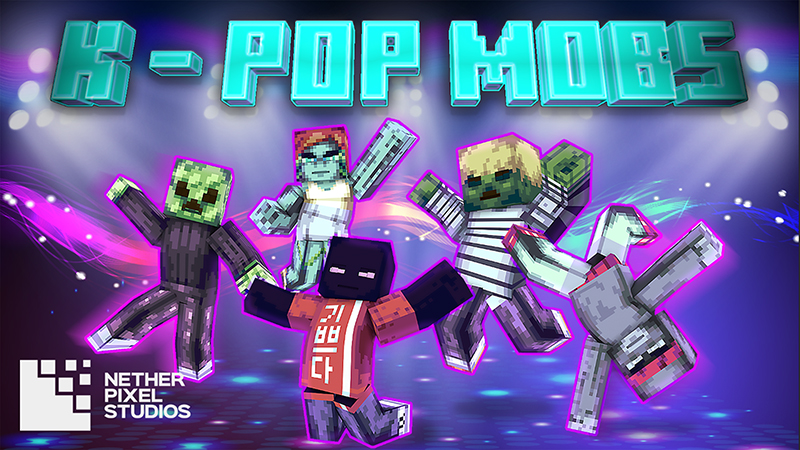 KPop Mobs on the Minecraft Marketplace by Netherpixel