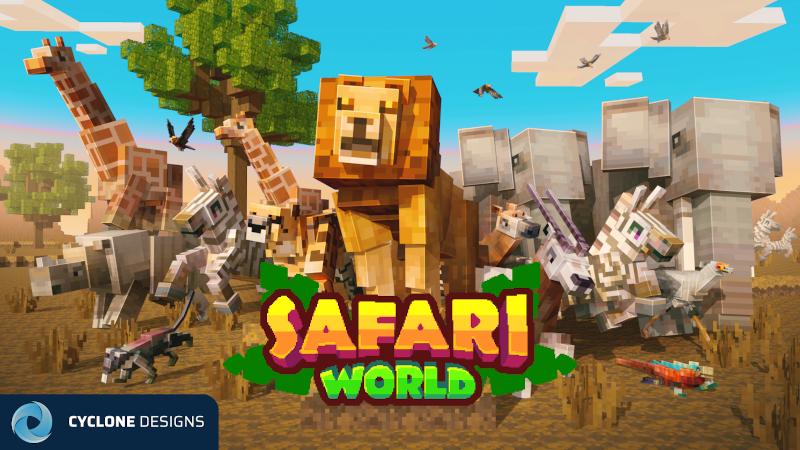 Safari World on the Minecraft Marketplace by Cyclone
