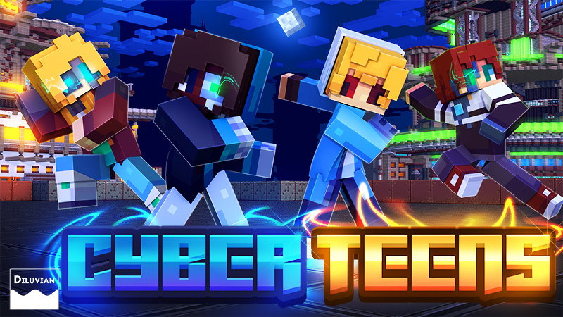 Cyber Teens on the Minecraft Marketplace by Diluvian