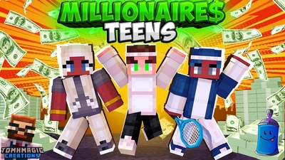 Millionaire Teens on the Minecraft Marketplace by Tomhmagic Creations