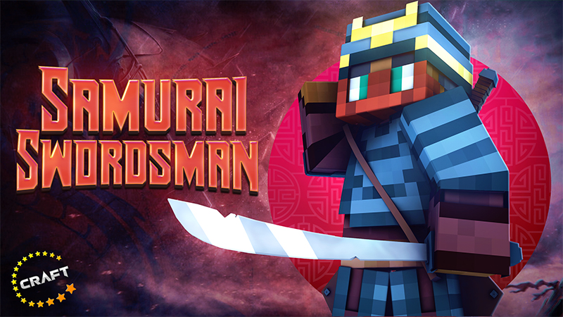 Samurai Swordsman on the Minecraft Marketplace by The Craft Stars