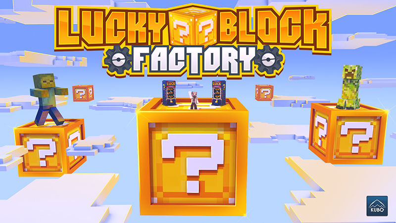 Lucky Block Factory on the Minecraft Marketplace by Kubo Studios