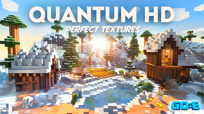 Quantum HD  Texture Pack on the Minecraft Marketplace by GoE-Craft