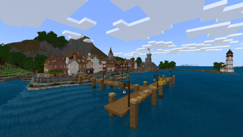 Medieval Harbor by Fall Studios