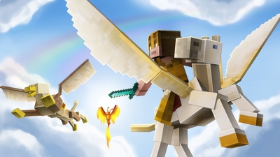Mythical Animals on the Minecraft Marketplace by stonemasons