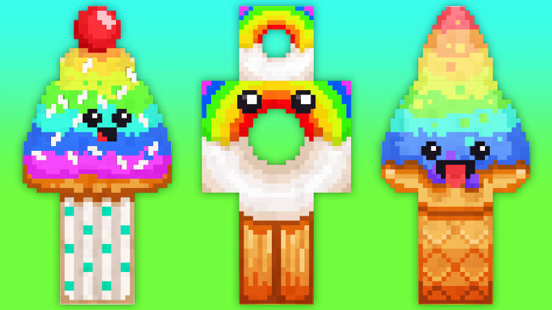 Rainbow Treats on the Minecraft Marketplace by 57Digital
