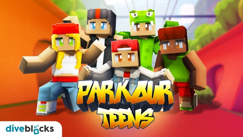 Parkour Teens on the Minecraft Marketplace by Diveblocks