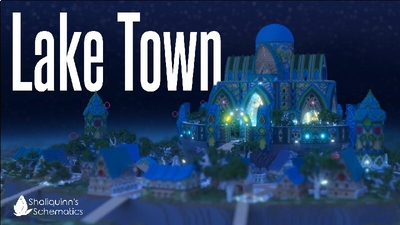 Lake Town on the Minecraft Marketplace by Shaliquinn's Schematics