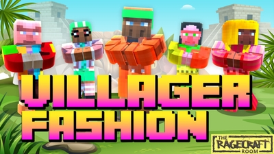 Villager Fashion on the Minecraft Marketplace by The Rage Craft Room