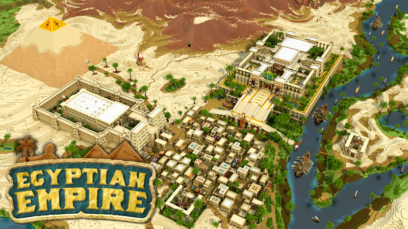Egyptian Empire on the Minecraft Marketplace by Impulse