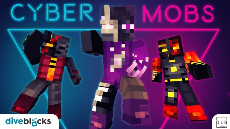 Cyber Mobs on the Minecraft Marketplace by Diveblocks