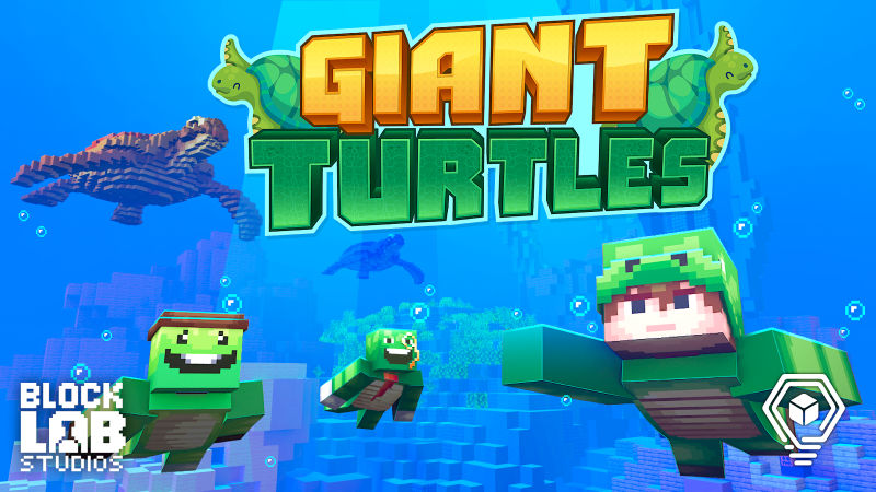 Giant Turtles on the Minecraft Marketplace by BLOCKLAB Studios