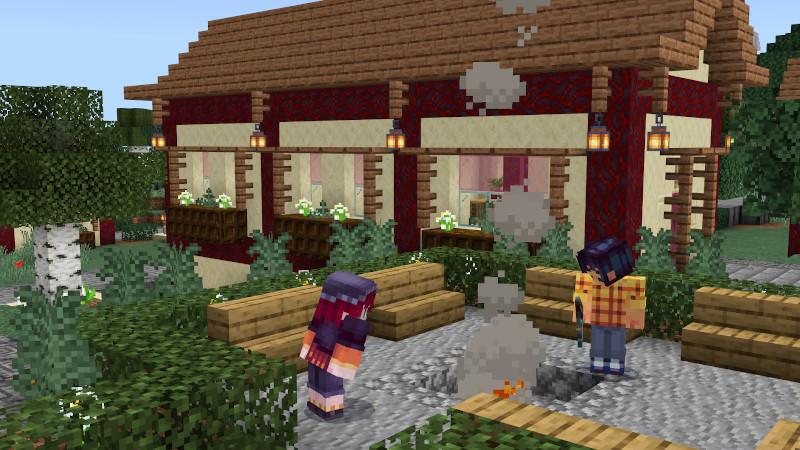 Crimson Dragon Village by BTWN Creations
