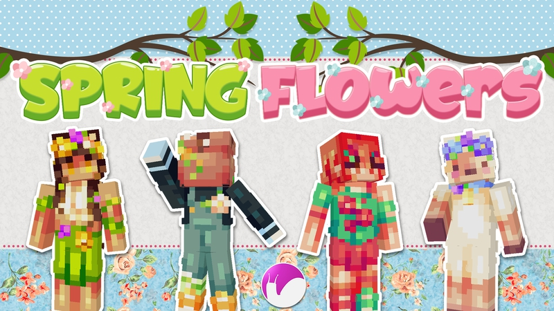 Spring Flowers on the Minecraft Marketplace by Snail_Studios