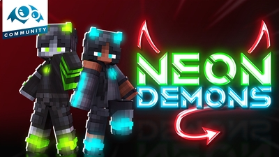 Neon Demons on the Minecraft Marketplace by Monster Egg Studios