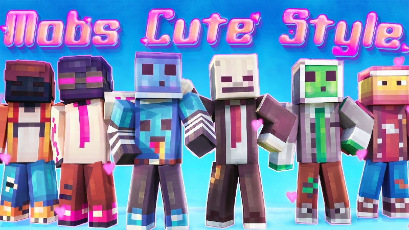 Mobs Cute Style on the Minecraft Marketplace by Kubo Studios