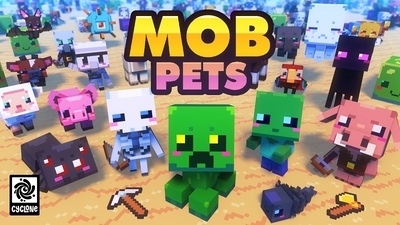 Mob Pets on the Minecraft Marketplace by Cyclone