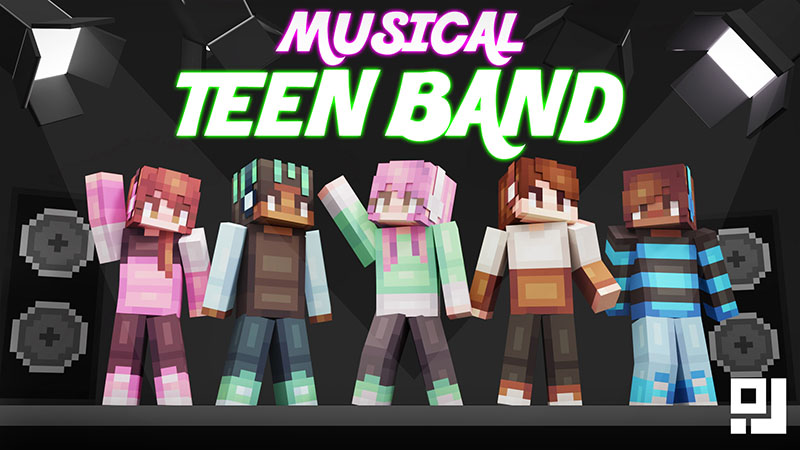 Musical Teen Band on the Minecraft Marketplace by inPixel