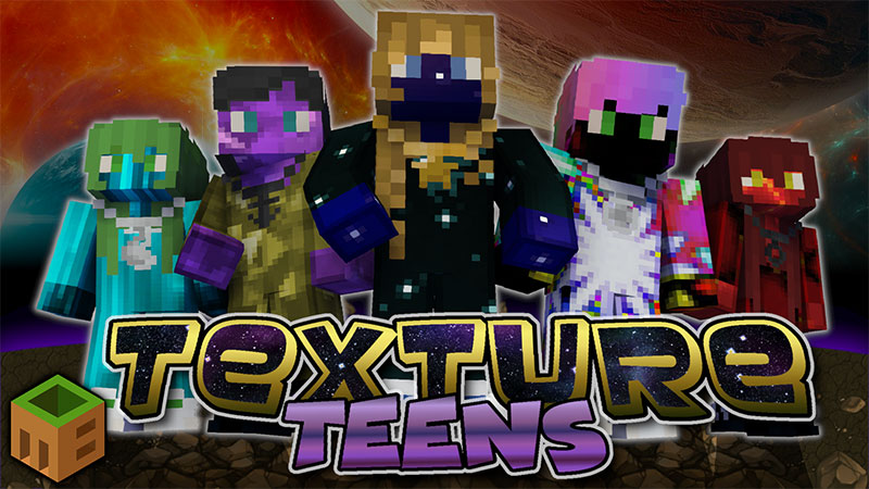Texture Teens on the Minecraft Marketplace by MobBlocks