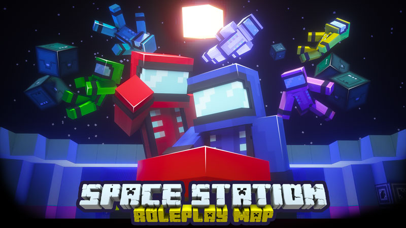 Space Station on the Minecraft Marketplace by Owls Cubed