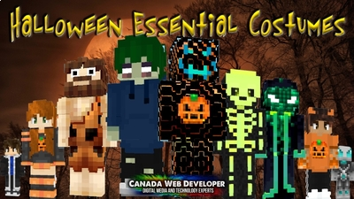 Halloween Essential Costumes on the Minecraft Marketplace by Canada Web Developer