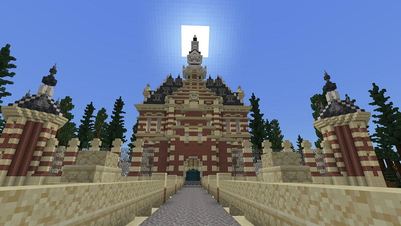 Woodland Castle on the Minecraft Marketplace by Nitric Concepts