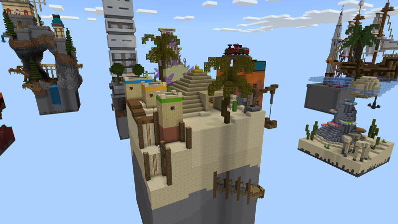 New Worlds Chunks on the Minecraft Marketplace by Pixelusion