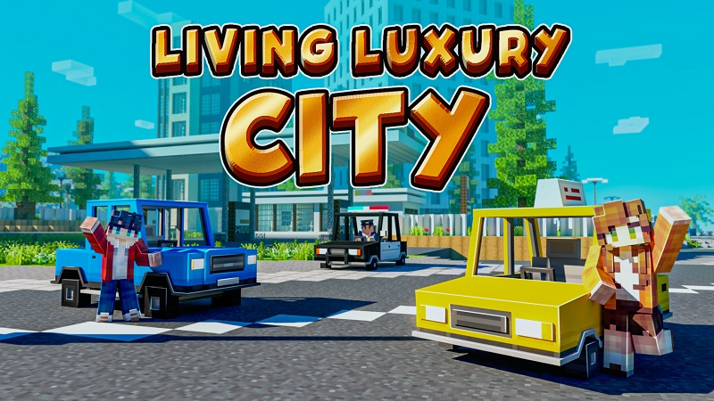 Living Luxury City on the Minecraft Marketplace by BBB Studios