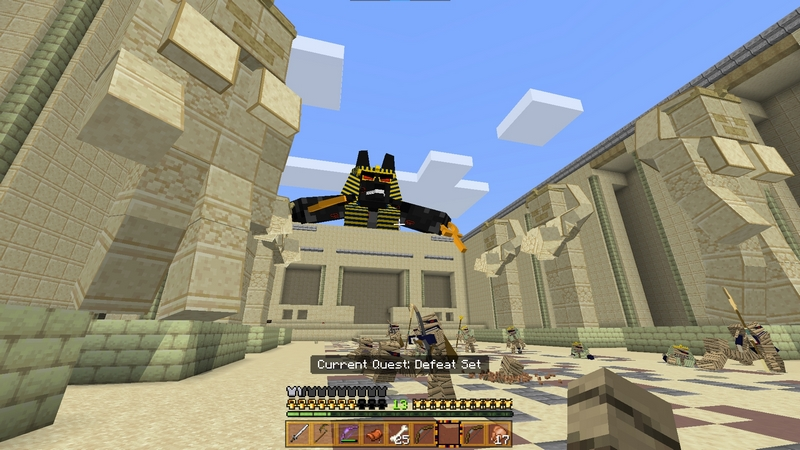 Egyptian Gods by MCTexels