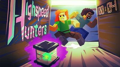 Highspeed Hunters on the Minecraft Marketplace by Glowfischdesigns
