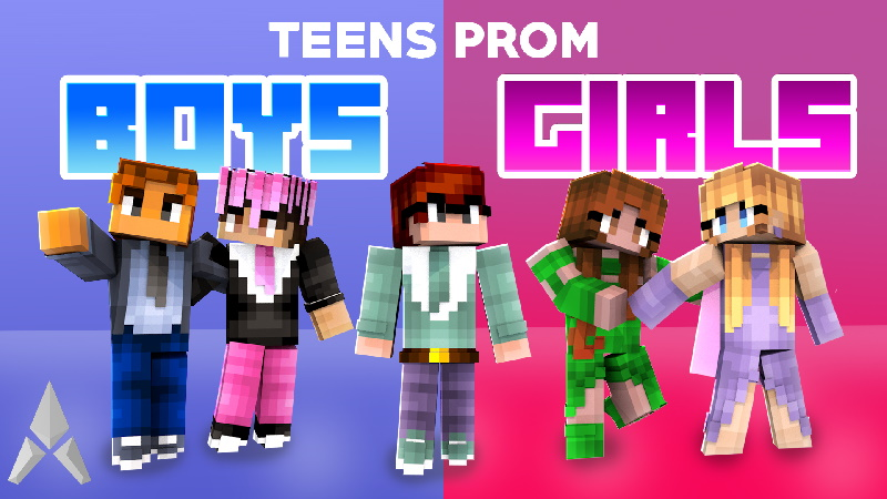 Teens Prom Boys Girls on the Minecraft Marketplace by Mine-North