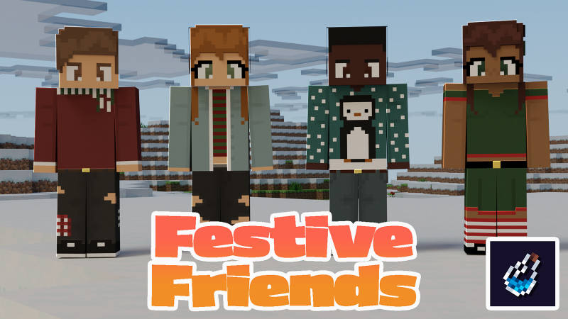 Festive Friends on the Minecraft Marketplace by BLOCKLAB Studios