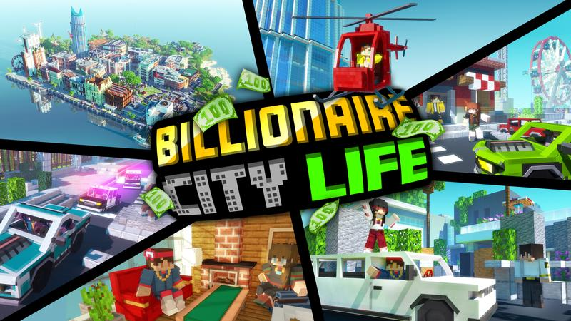 Billionaire City Life on the Minecraft Marketplace by Cubed Creations