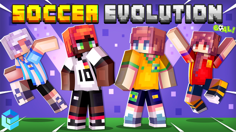 Soccer Evolution on the Minecraft Marketplace by Entity Builds