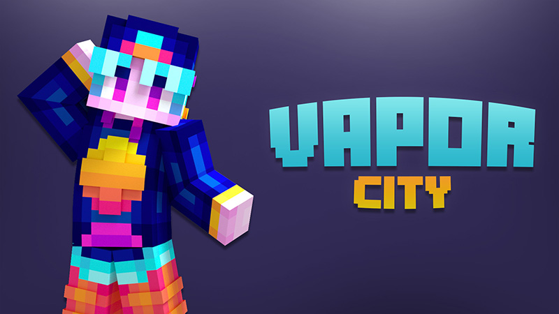 Vapor City on the Minecraft Marketplace by Aurrora