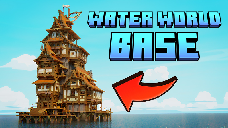 Water World Base on the Minecraft Marketplace by Mine-North