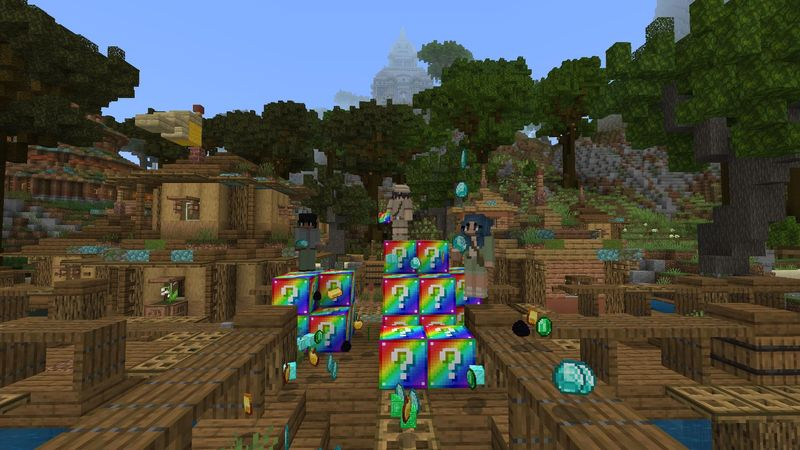 Lucky Block: Rainbow! by Asiago Bagels