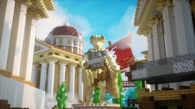 Greek City on the Minecraft Marketplace by Chunklabs