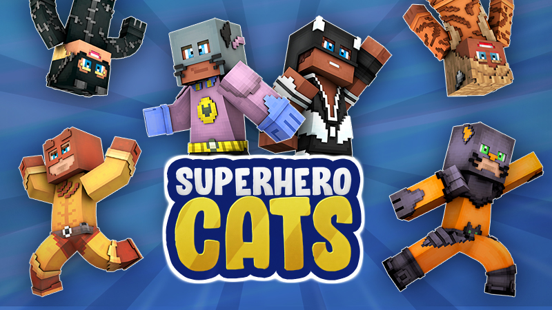 Superhero Cats on the Minecraft Marketplace by The Craft Stars