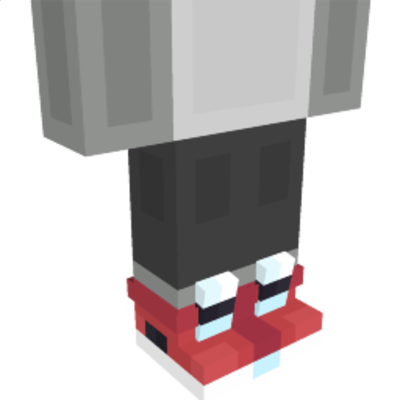 Red HighTop Sneakers on the Minecraft Marketplace by NovaEGG