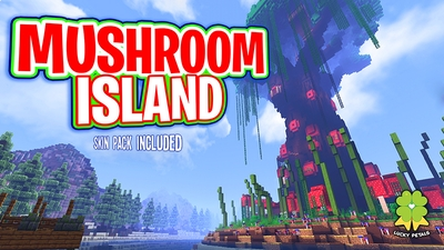 Mushroom Island on the Minecraft Marketplace by The Lucky Petals