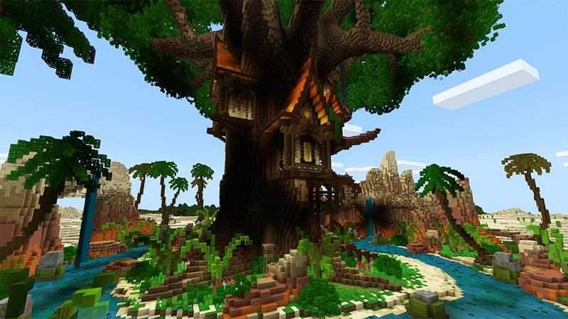 Oasis Tree House by Gearblocks